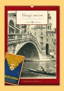 Calendario Storico l'Italia com'era - Copertina di Venezia