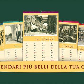 Calendario Storico 2019 - Foto di interni a ventaglio